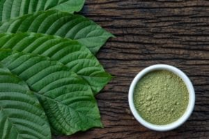 The effects of different types of kratom powder